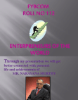 project on MR. NARAYANA MURTHY
