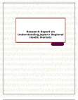 Research Report on Understanding Japan's Regional Health Markets