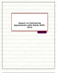 Report on Partnering Agreements with Stada 2005-2012