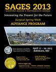 SAGES 2013 Advance Program
