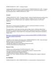TOHTO SUISAN CO., LTD. - Company Capsule