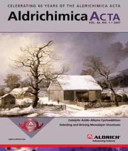 Aldrichimica acta impact factor for Soil research impact factor
