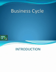 Business Cycle-A Primer