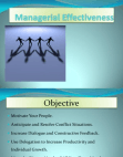 managerial effectivness