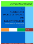 NPS-AS ALTERNATE SOURCE OF FUNDING RAILWAY SHORTTERM PROJECTS