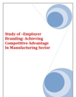 Employer Branding Manufacturing Sector