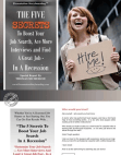 5 Secrets To Creative Job Search