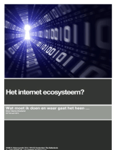 Het Internet Ecosysteem? - Wat moet ik doen en waar gaat het heen ...
