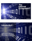 The Internet Ecosystem? - What should I do and where is it heading ...