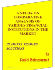 Comparitive analysis on Financial institutions