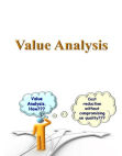Presentation on Value Analysis