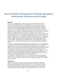 Research Study in Management of Change