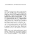 Study Report on Employees Resistance Towards Organizational Change
