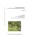 Study Report on Agriculture Marketing Systems in South Asia: Marketing Information System