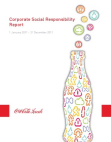 Report Study on Corporate Social Responsibility: Coca Cola