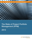 Research Report on Project Portfolio Management