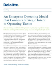 Study on Enterprise Operating Model