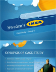 Sweden's Ikea Case Study