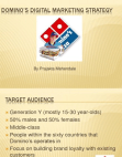 project on dominos digital marketing