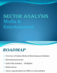 PROJECT ON MEDIA ENTERTAINMENT INDUSTRY