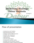 MARKET STRATEGY OF DABUR HAJMOLA