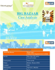 CASE STUDY ON BIG BAZAAR