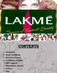 PROJECT ON LAKME