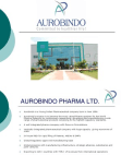 Financial Analysis of Aurobindo