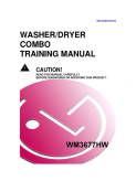 LG Washer Dryer Combo Training Manual