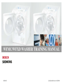 Bosch Siemens WFMC WFXD Washer