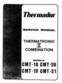Thermador CMT Thermatronic II Combination CMT Ovens