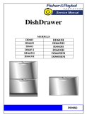 Fisher & Paykel DishDrawer 599082
