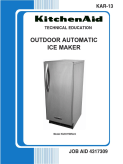 KitchenAid Outdoor Icemaker Service Repair Manual KAR-13