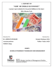 Report on GDP of INDIA