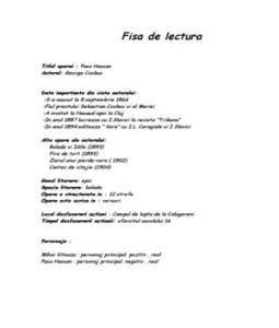 pasa hassa de george cosbuc essay Pasa hassan de george cosbuc - poezie opera, viata si activitatea publicistica  george cosbuc.