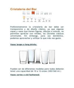 Cristaleria del bar for Cristaleria para bar