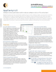 AppClarity Product Sheet