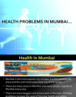 health problems in mumbai