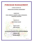 purchase management