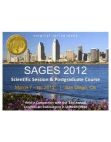 SAGES 2012 Promotional Slide