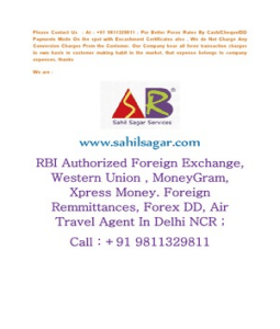 Forex agent in gurgaon