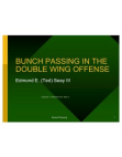 Bunch Passing in DWing Offense by Ted Seay