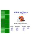 2002 UWP Spread Offense Install  105 Slides