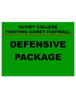2004 Olivet College Defense  192 Slides