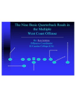 9 QB Reads in the Multiple West Coast Offense