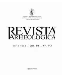 Revista arheologica vol vii nr 1 2