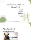 Snap Deal & Yebhi