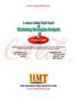 project report of Coca cola