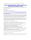 Xander International Corp. (6118) - Financial and Strategic SWOT Analysis Review