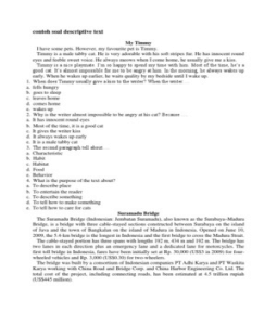 Read more on Soal pilihan ganda bahasa inggris smp kelas 9 semester